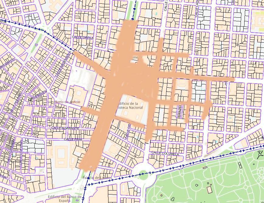 mapa de manifestación colon